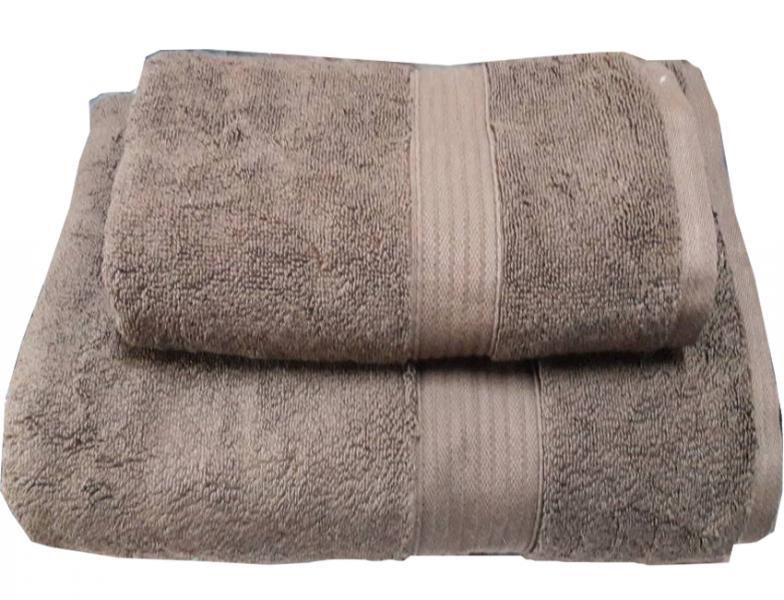 Набор махровых полотенец Galata бежевый