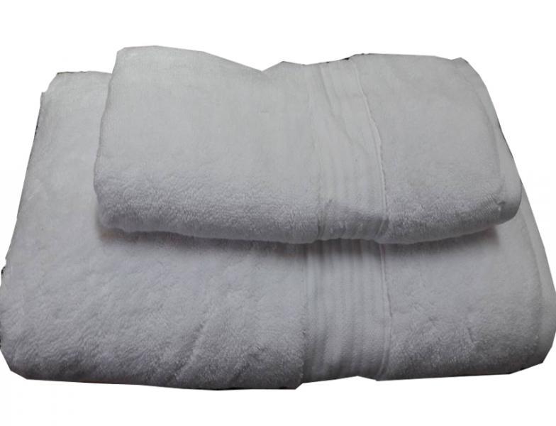 Набор махровых полотенец Galata белый