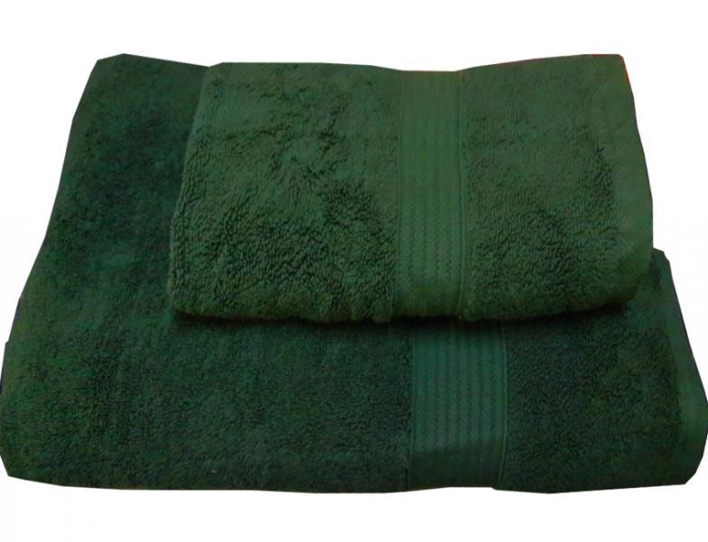 Набор махровых полотенец Galata зеленый
