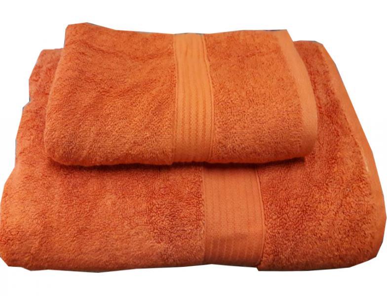 Набор махровых полотенец Galata оранжевый