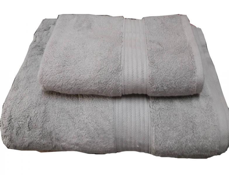 Набор махровых полотенец Galata светло-серый