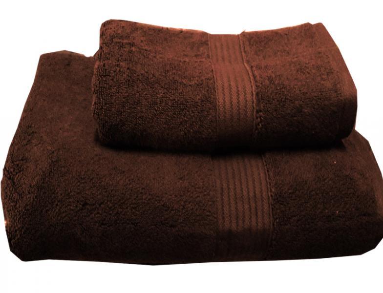 Набор махровых полотенец Galata шоколад