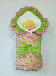Фото Зимняя для новорожденных Одеяло на выписку зимнее