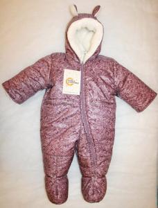 Фото Зимняя для новорожденных Комбинезон