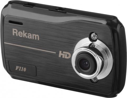 Видеорегистратор Rekam F110 (черный)