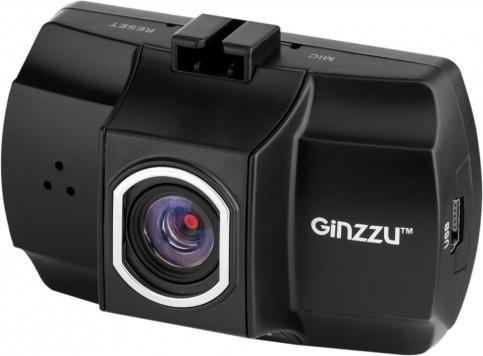 Видеорегистратор Ginzzu FX-801HD (черный)