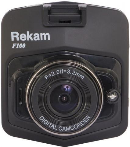 Видеорегистратор Rekam F100 (черный)