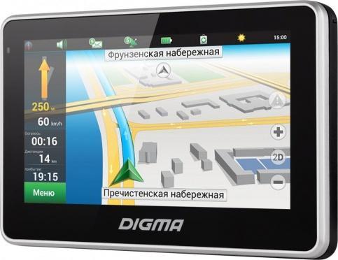 GPS-навигатор Digma AllDrive 400 (черный)