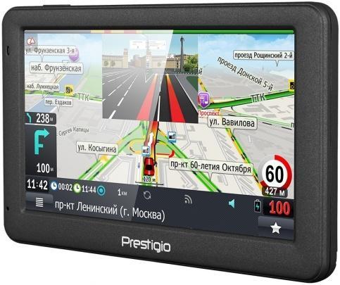 GPS-навигатор Prestigio GeoVision 5059 Progorod (темно-серый)