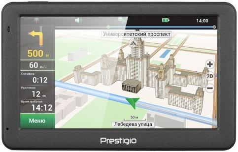 GPS-навигатор Prestigio GeoVision 5059 Navitel (темно-серый)