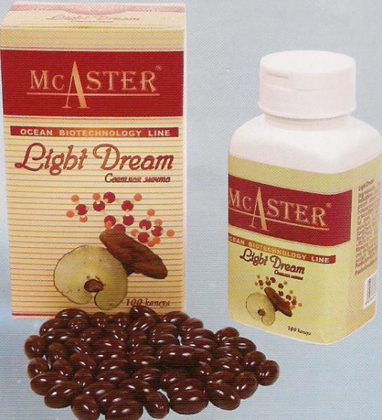 Мягкие гелевые капсулы лецитин «Светлая мечта» ТМ McAster - 100 капс.