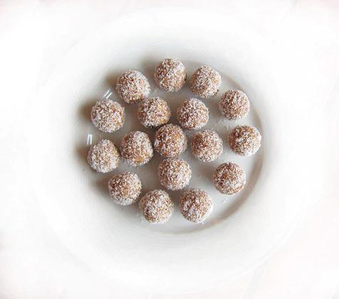 """Набор сыроедческих конфет """"Кокосовые"""", 12 шт."""