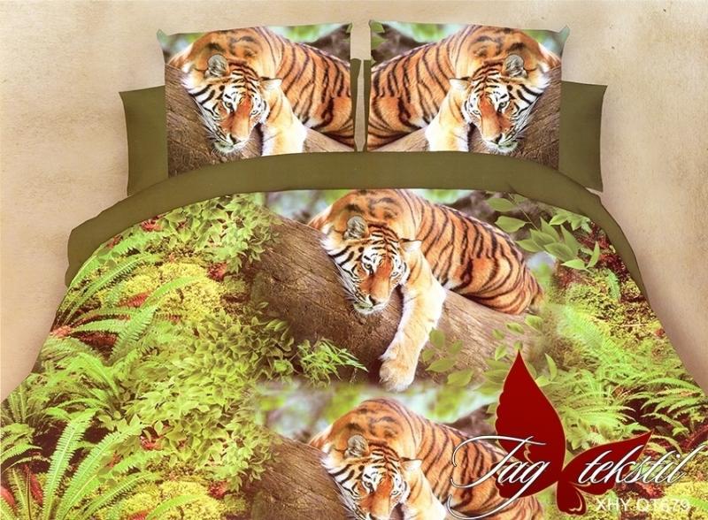 Фото ПОСТЕЛЬНОЕ БЕЛЬЕ, поликоттон 3D Комплект постельного белья XHY679