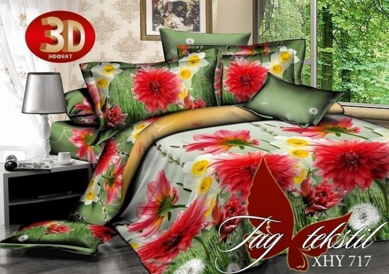 Фото ПОСТЕЛЬНОЕ БЕЛЬЕ, поликоттон 3D Комплект постельного белья XHY717