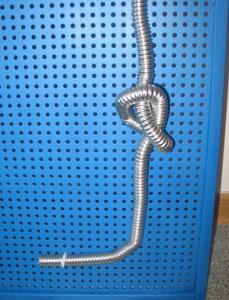 Фото Гофрированная труба из нержавеющей стали KOFULSO.Производитель Южная Корея. Гофрированная труба KOFULSO из нержавеющей стали отожженная Ф 15 мм (1/2)