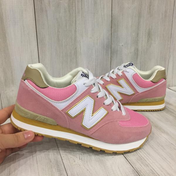 Кроссовки женские New Balance розовые