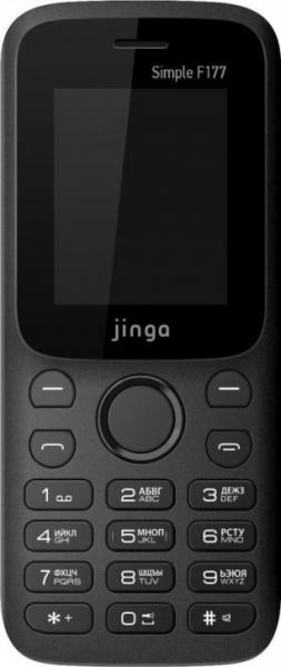 Мобильный телефон Jinga Simple F177 (черно-оранжевый)