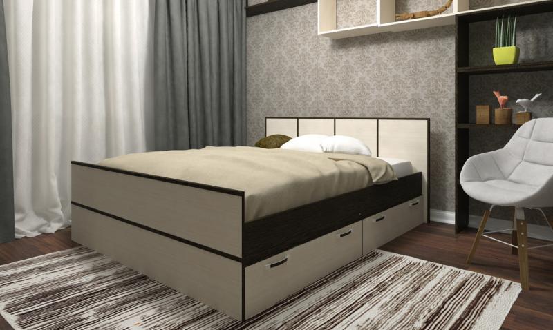 Кровать Весна 140(ДСВ мебель)