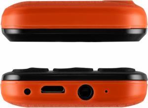 Фото Мобильные телефоны до 1000 руб., Мобильные телефоны кнопочные Мобильный телефон Jinga Simple F100 (оранжевый)