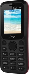Фото МОБИЛЬНАЯ ЭЛЕКТРОНИКА, Мобильные телефоны кнопочные Мобильный телефон Jinga Simple F170 (черно-красный)