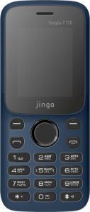 Фото МОБИЛЬНАЯ ЭЛЕКТРОНИКА, Мобильные телефоны кнопочные Мобильный телефон Jinga Simple F170 (синий)