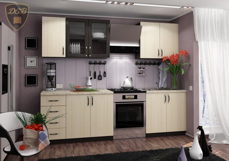 Кухня ТАТЬЯНА 2,0м(ДСВ мебель)