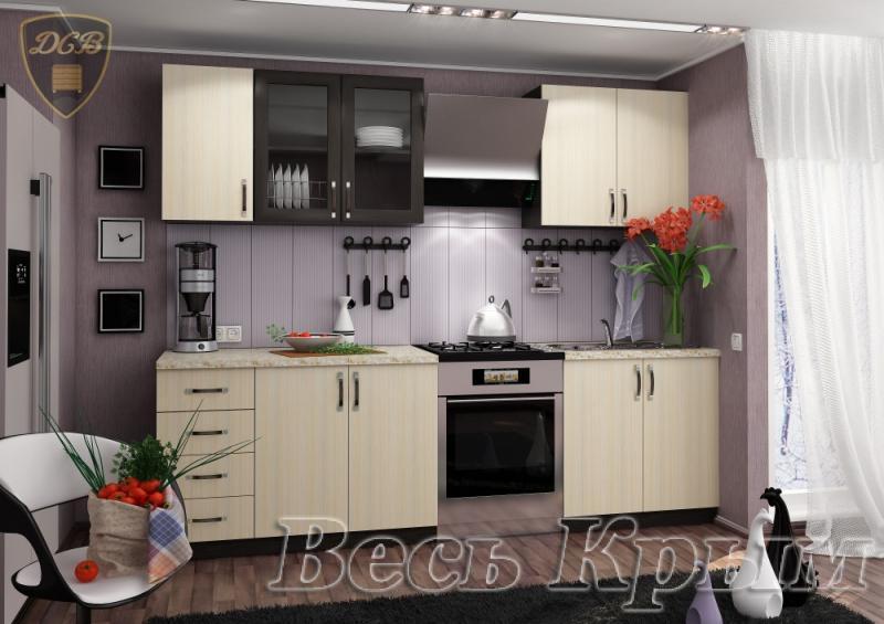Кухня ТАТЬЯНА 2,0м(ДСВ мебель) Кухонные гарнитуры в Крыму