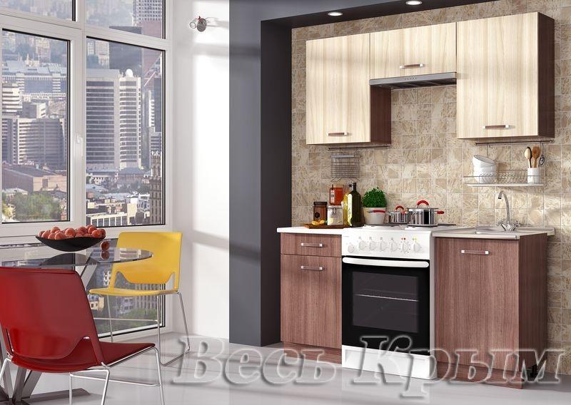 Кухня Татьяна-2 1,6м(ДСВ мебель) Кухонные гарнитуры в Крыму
