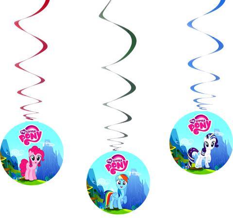 """Спиральки 7шт. """"Маленькая пони"""""""