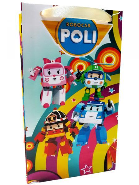 "Пакеты 32*18*9 ""Робокар Поли"""