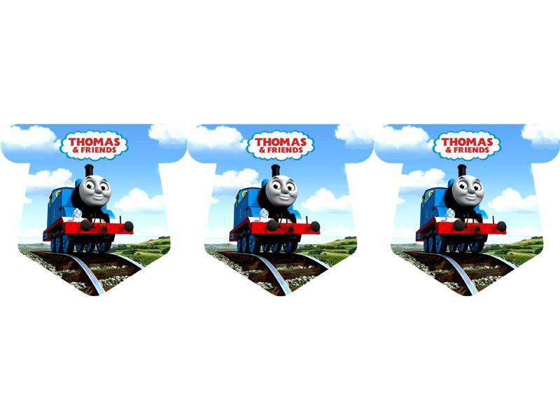 """Флажки 15 шт. """"Паравозик Томас"""" 1"""