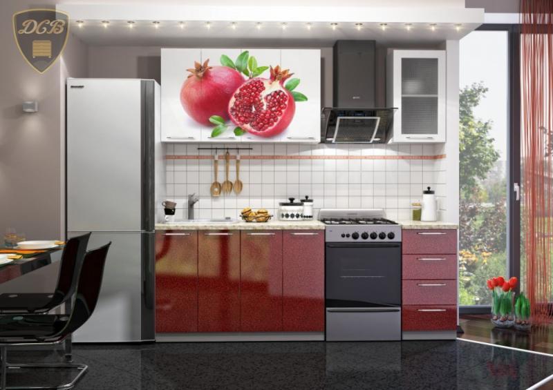 Кухня ГРАНАТ Фотопечать 1,6м(ДСВ мебель)