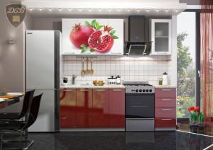 Фото  Кухня ГРАНАТ Фотопечать 1,6м(ДСВ мебель)
