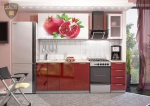 Фото  Кухня ГРАНАТ Фотопечать 1,8м(ДСВ мебель)