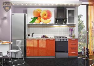 Фото  Кухня ПЕРСИК 1,6м(ДСВ мебель)