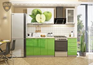Фото  Кухня ЯБЛОКО 1,6м(ДСВ мебель)