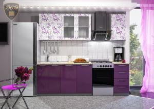 Фото  Кухня ФЛОРА Фотопечать 1,8м(ДСВ мебель)