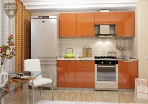 Фото  Кухня ОЛИВА - ОРАНЖ 2.1м(ДСВ мебель)