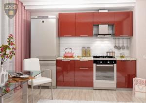 Фото  Кухня ОЛИВА- ГРАНАТ 2.1м(ДСВ мебель)