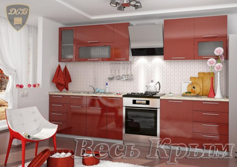ДСВ мебель-Кухня ОЛИВА - ГРАНАТ модульная Кухонные гарнитуры в Крыму