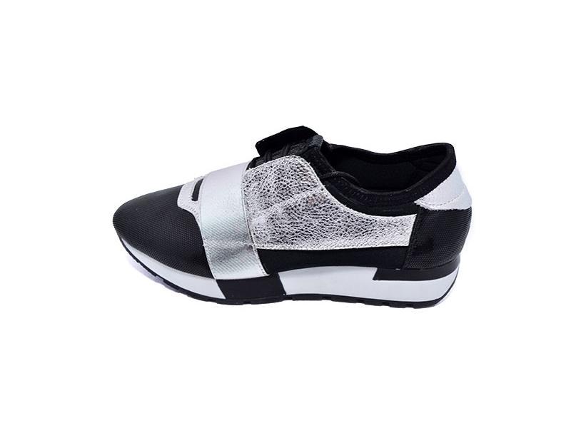 Кроссовки женские First 1702 Silver Black