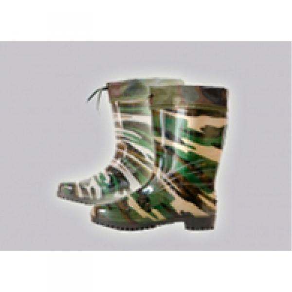 Фото Осень-весна обувь, Мужская 7008 Сапоги подростковые силикон с манжетом