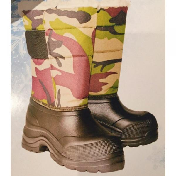 Фото Зимняя обувь, Мужская Аляска на липучке ЭВА (
