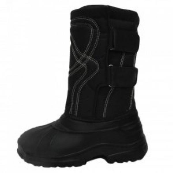 Фото Зимняя обувь, Мужская Аляска на 2 липучках со съемным чулком(