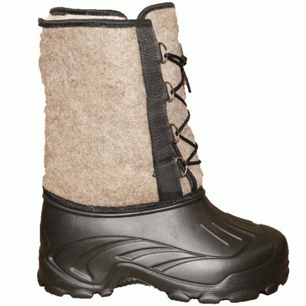 Фото Зимняя обувь, Мужская Сапоги ЭВА мужские «Аляска» на шнурке войлок (