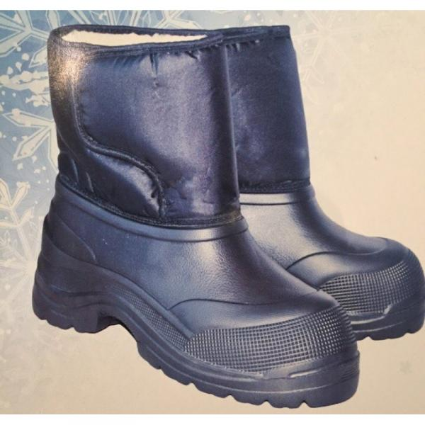 Фото Зимняя обувь, Мужская БОТИНКИ НА ЛИПУЧКЕ ЭВА КОРОТКИЕ(