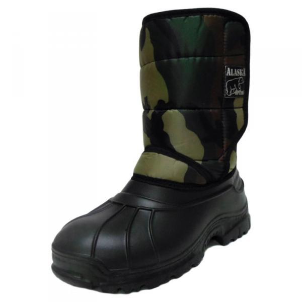 Фото Зимняя обувь, Мужская Аляска на липучке (