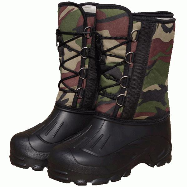 Сапоги ЭВА мужские «Аляска» на шнурке (