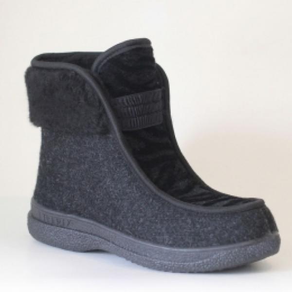 Фото Зимняя обувь, Женская Полусапожки 0005 оптом