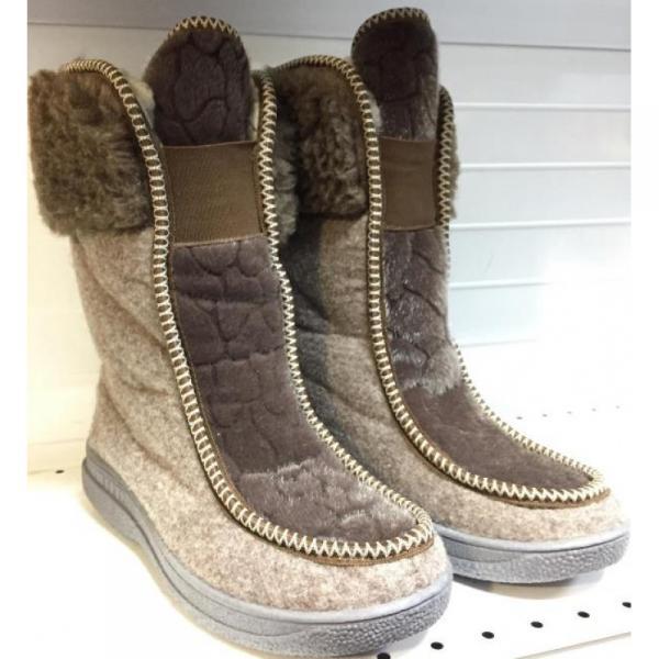 Фото Зимняя обувь, Женская Полусапожки 0006 оптом